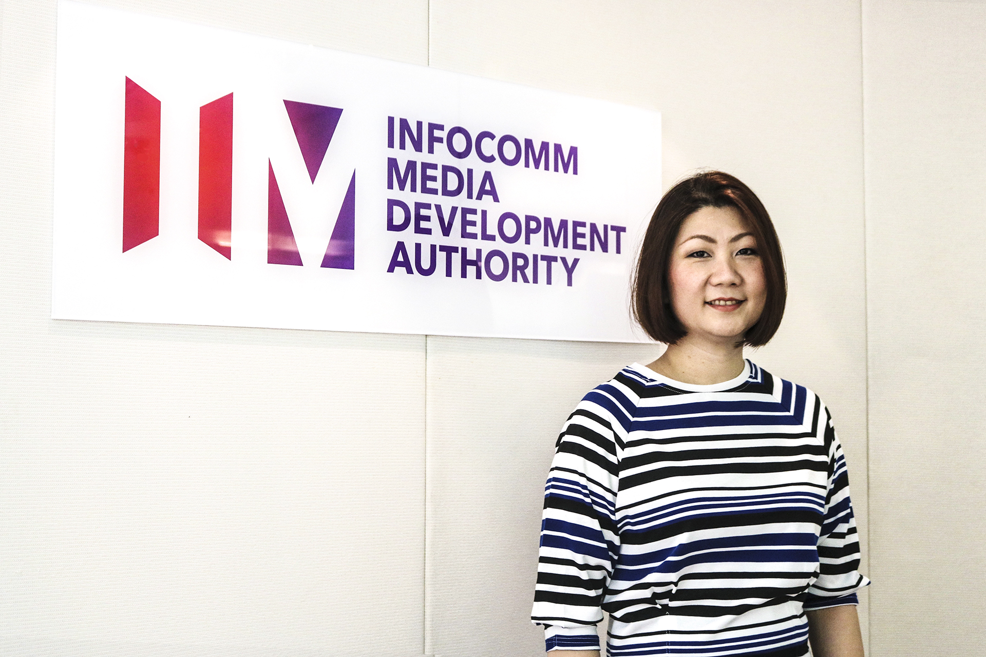 As assistant CEO, Poh oversees content creation in various sub-sectors and heads the organisation's innovation drive across the infocomm and media sectors. PHOTO: CHERYL TEE