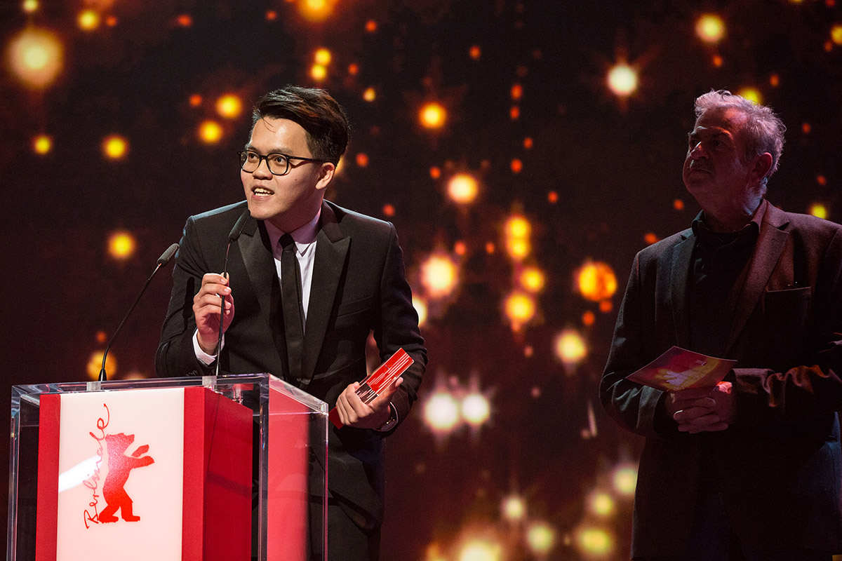 "Chiang won an award for his short film, ""Anchorage Prohibited"", at the prestigious Berlin Film Festival 2016. PHOTO COURTESY © Berlinale"