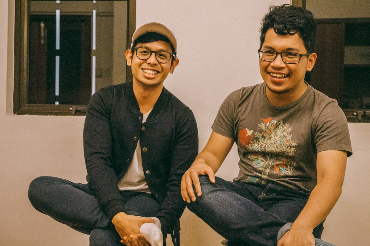 Artistic directors Fazah and Cheong started theatre collective The Second Breakfast Company while in their third year at WKWSCI. PHOTO: JERLIN HUANG