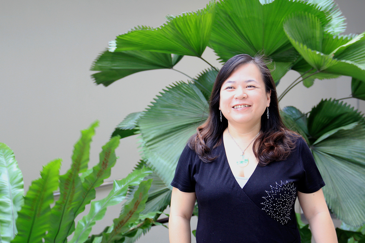 Assistant Professor Lin, who specialises in broadcast and digital media research, constantly encourages her students to push their boundaries. PHOTO: LU YAWEN