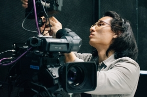 Working his way to achieving his dream of becoming a filmmaker, Zachary Tang (CS '17) is starting small by gaining as much exposure and experiences as possible.