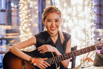 Tay graduated from WKWSCI in 2006, and has since become a household name in the Mandarin Pop scene. PHOTO: JERLIN HUANG