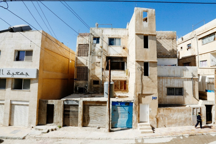 Al Hashmi Al-Shamali, Amman, Jordan, the district where Ong went to conduct house visits and English lessons thrice a week in 2014.