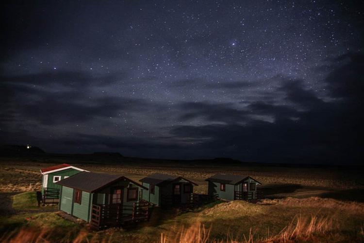 After a long day of travel, Tay is greeted by a starry night sky in Iceland. PHOTO COURTESY OF HENDRIC TAY