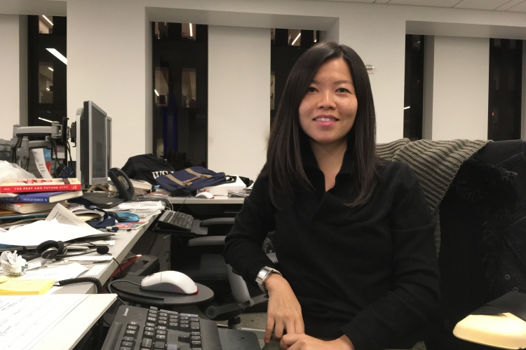 Fung joined The Wall Street Journal's New York City bureau in August, where she reports on real estate. PHOTO COURTESY OF ESTHER FUNG